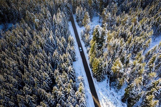 Transport drogowy zimą